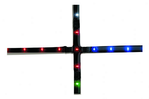 Firstlight 4206WH White LED's LED Cross Strip